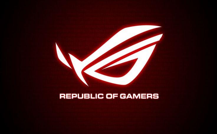 Republic Of Gamers Font HD Wallpaper