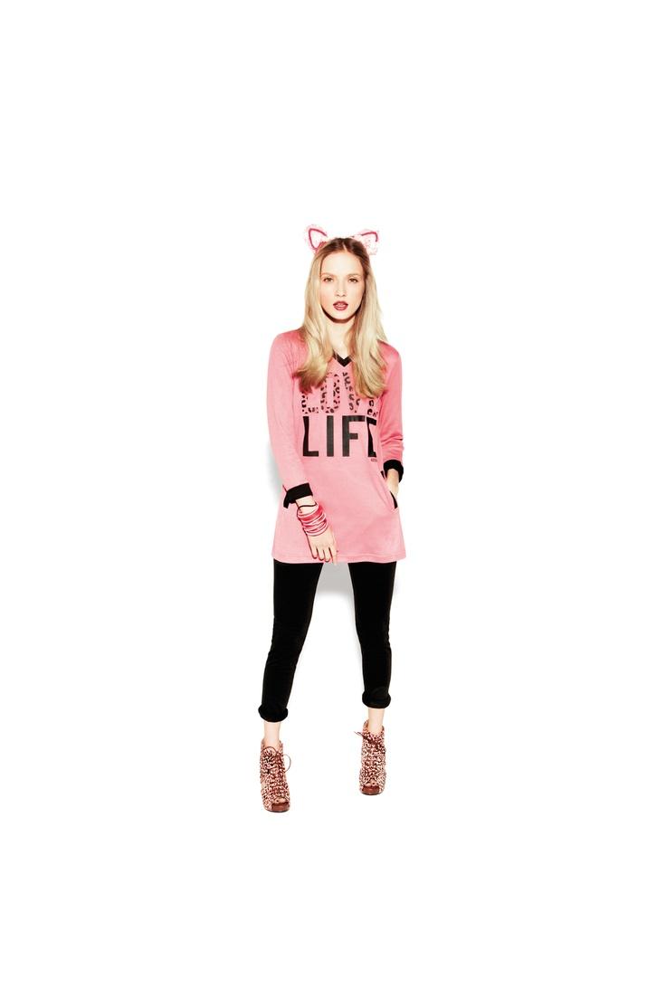 noidinotte Spring Summer 2012  #pigiama #nightwear #look #easywear