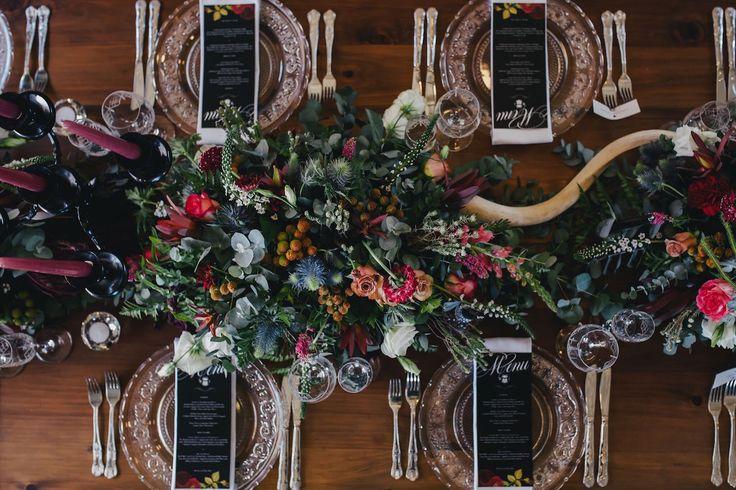 Scandinavian Gothic Wedding