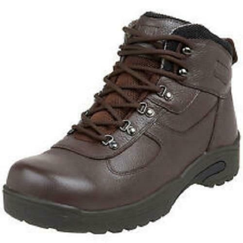 aca56134dd5 $285 Drew Rockford Boots Mens 13 6E Wide Brown Diabetic Orthotic ...