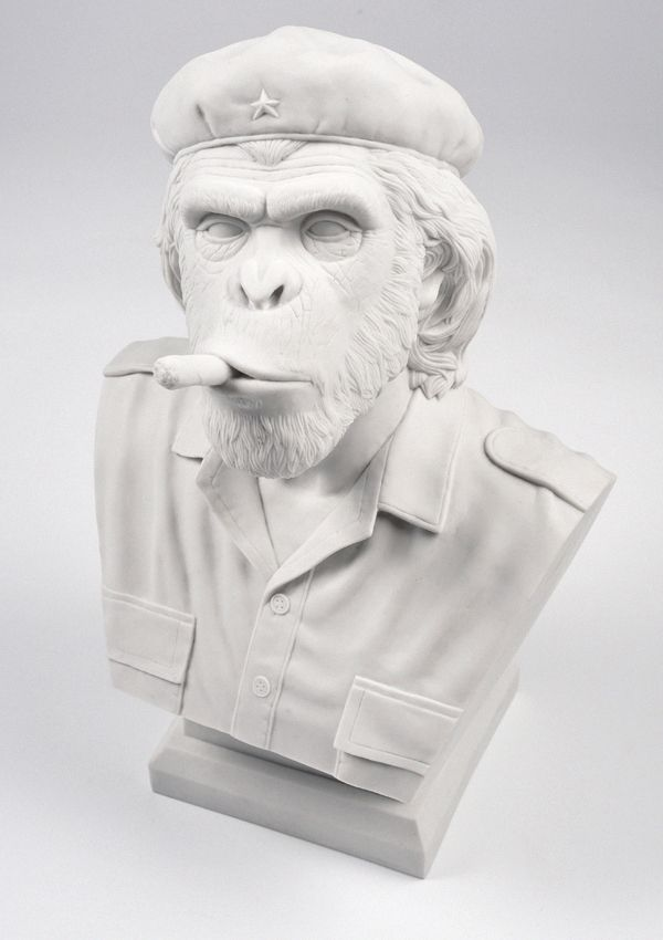 Che Ape - Resin Bust Sculpture - White by Outsiders Collective
