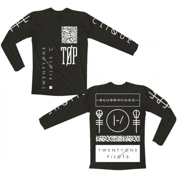 Es de camiseta de Twenty One Pilots. Esta hecha de algodón. Es una ropa de casual. Me gusta porque. Me gusta porque de los diseños. Es muy unico.