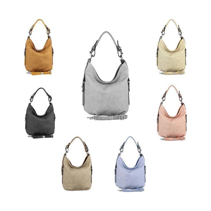 OBC DAMEN TASCHE SHOPPER Hobo-Bag Henkeltasche Schultertasche Umhängetasche Handtasche CrossOver CrossBag Damentasche Reisetasche Beuteltasche – Neupin