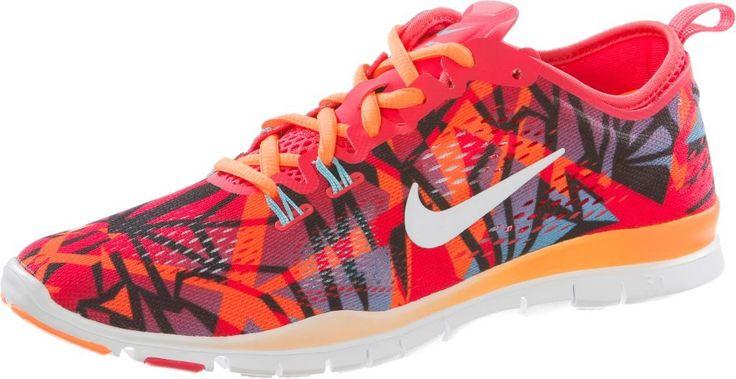 #Nike #Free #5.0 #Trainer #Fit #4 #Fitnessschuhe #Damen #rot/türkis