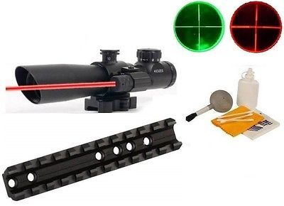 Scope Mounts and Accessories 52510: Marlin Rifle Weaver Picatinny Rail Mount +4X32 Red/Green Tactical Scope W/ Laser -> BUY IT NOW ONLY: $79.95 on eBay!