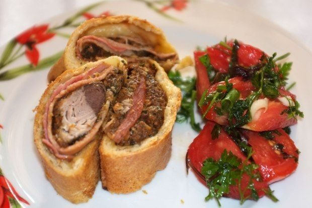 Baby Tuna Wellington - a recipe by Nikolaos Moropoulos (after Gordon Ramsay)