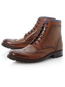 Ted Baker Sealls combination brogue boot