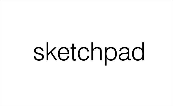 sketchpad