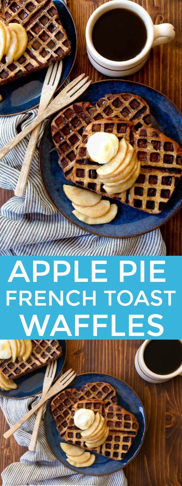 Waffle iron ideas: make French Toast Waffles in the waffle iron. Apple pie or pumpkin flavored waffles for the win!