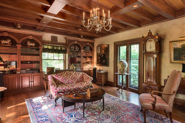 マサチューセッツ州の地中海様式の豪邸