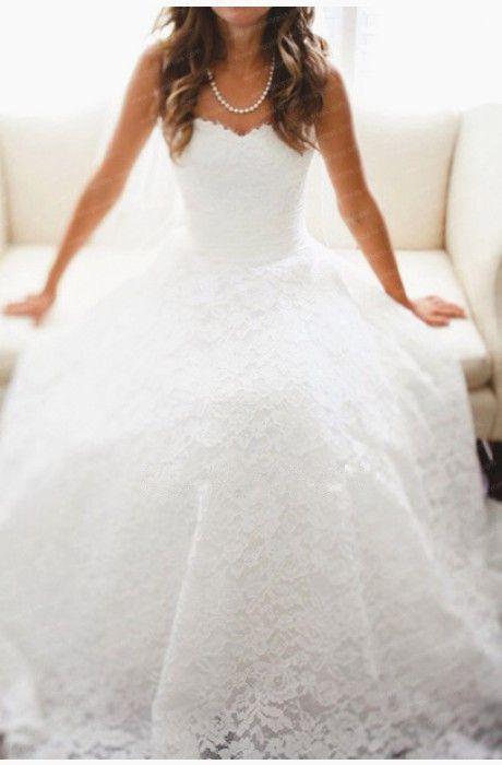 2015 New Arrival Lace Wedding Dresses,Floor-Length Wedding Dresses, Wedding Dresses, White Lace Wedding Dress,Wedding Dresses, Dresses For Wedding