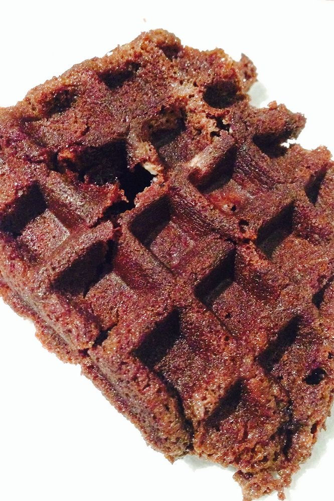 Cookies waffle iron recipe