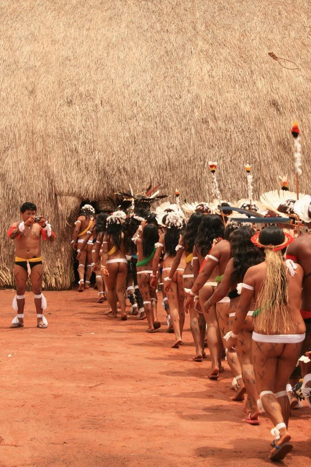 43 best xingu tribe pic 150613 images on Pinterest ... Xingu Tribes