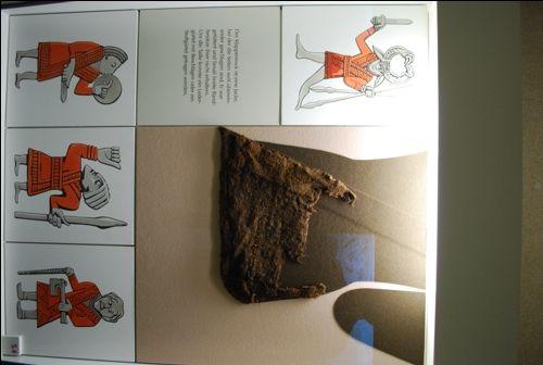 Viking Museum Haithabu - the infamous bathrobe coat from Hedeby