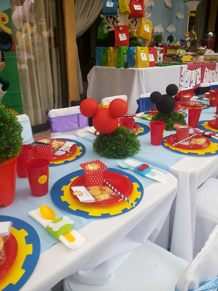 Mickey Mouse Clubhouse Birthday Party Ideas   Photo 8 of 20   Catch My Party