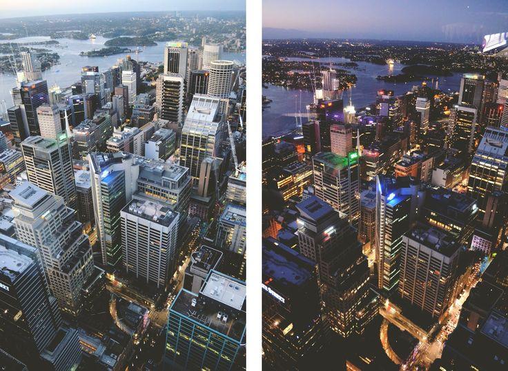 Sydney Tower Eye City view Travel