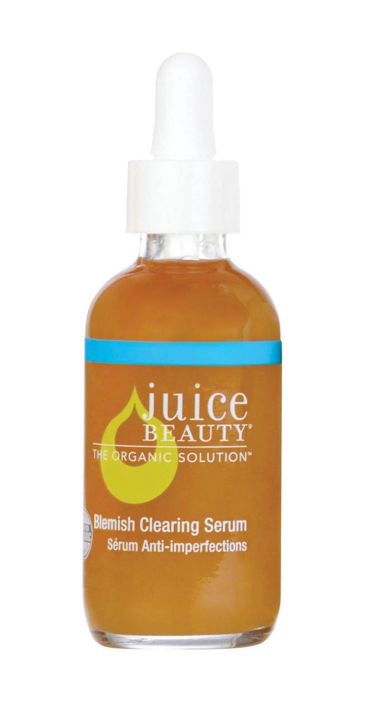 Juice Beauty Blemish Clearing Serum Reduce breakouts, unclog pores, and even skin tone with this powerful serum packed with organic fruit acids and willow bark that contains natural salicylic acid; wh