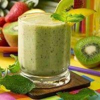 Recept Kiwi Mango Vanille Smoothie. Heerlijke zonnige smoothie. Goed gevuld en verzadigd gevoel na deze gezonde maar bovenal zalige smoothie!