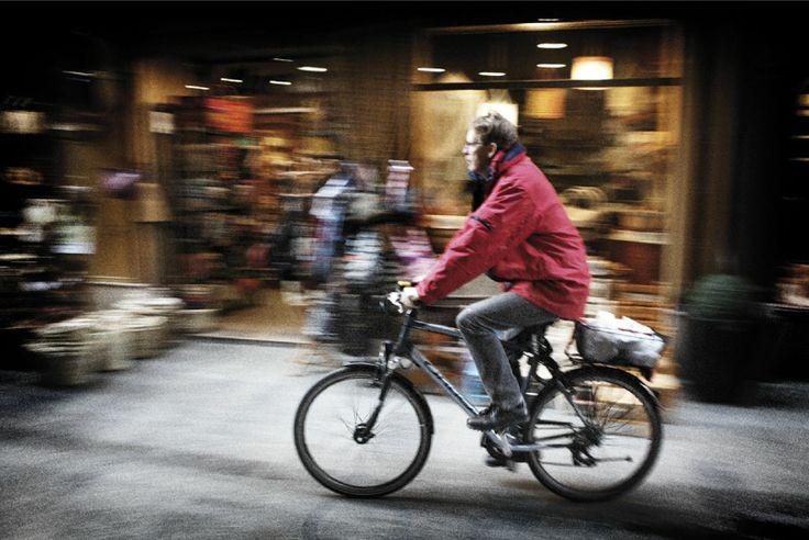 Bernd del Restaurante RiFF en el camino al mercado central en València