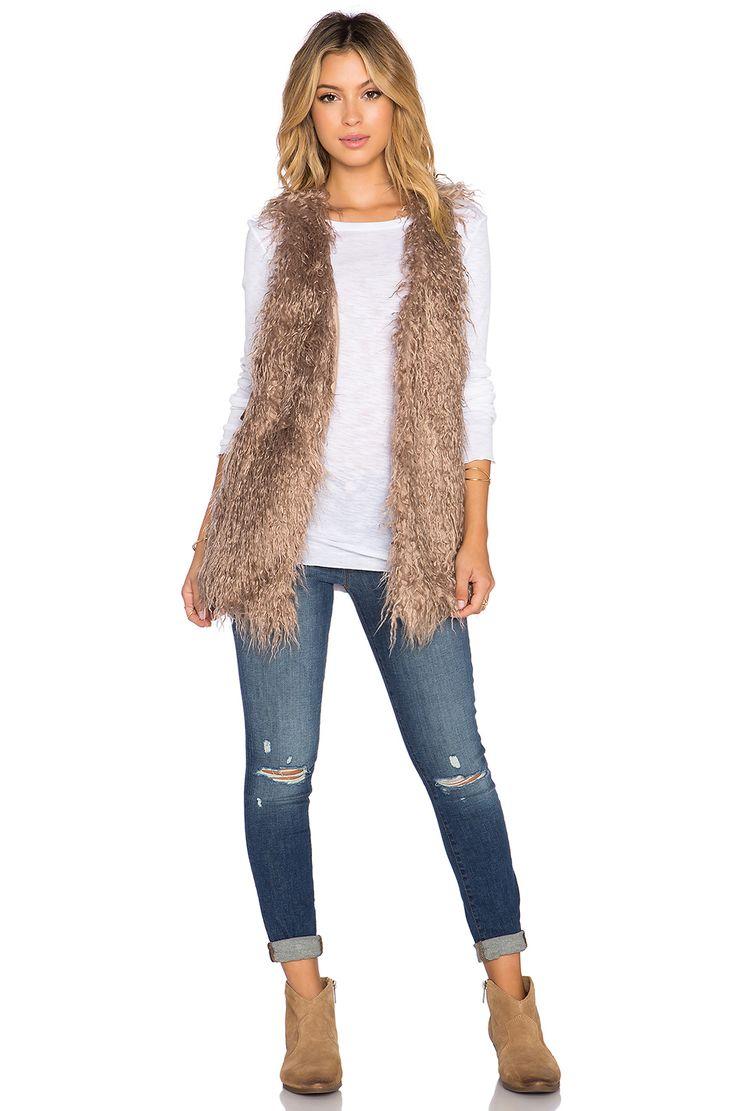 Best 25+ Fur vest outfits ideas on Pinterest   Fur vests ...