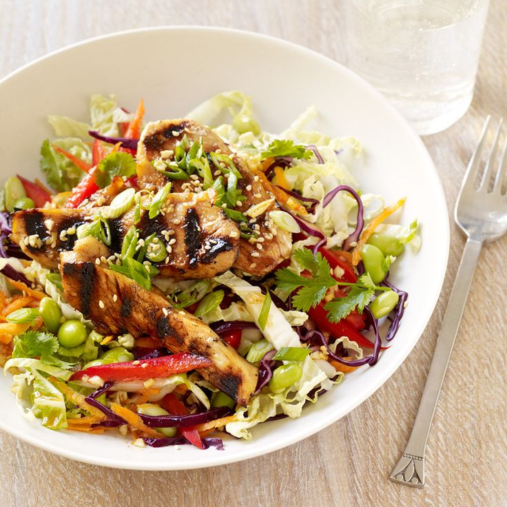 Sesame-Ginger Chinese Chicken Salad  Recipe  Food -7855
