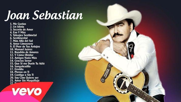 Joan Sebastian sus mejores exitos | Mix grandes exitos de Joan  Sebastia...