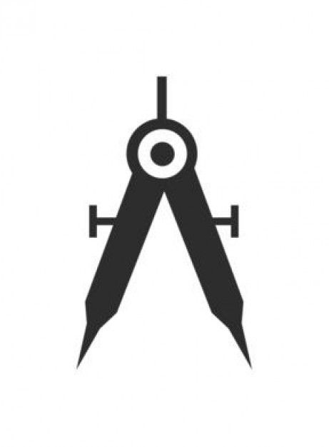 Draw compass   Download free Icons