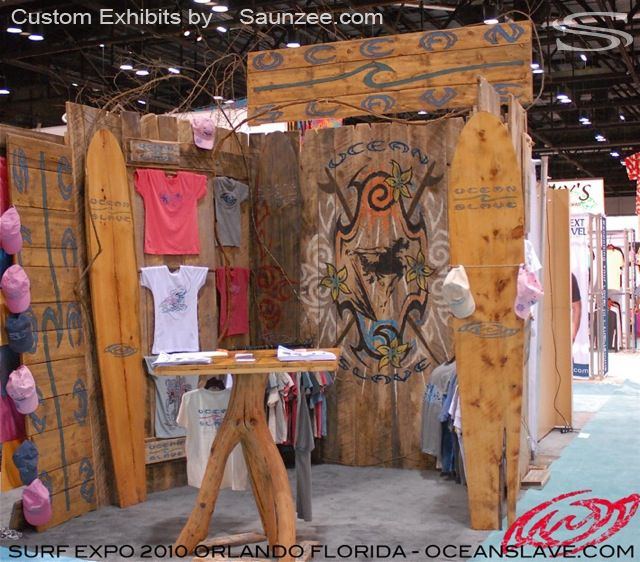 Reclaimed Wood Convention Booth Reclaimed Wood Trade