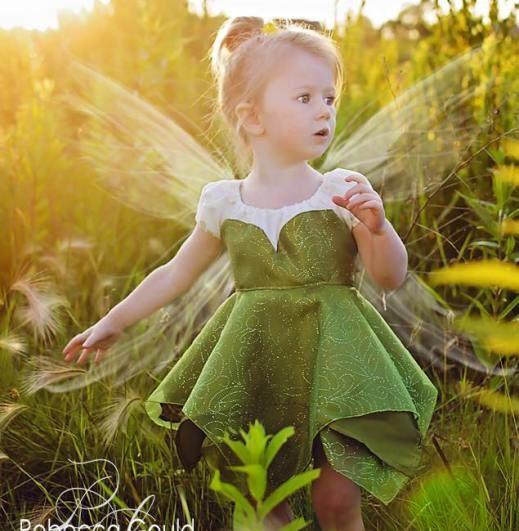 Tinkerbell dress pattern