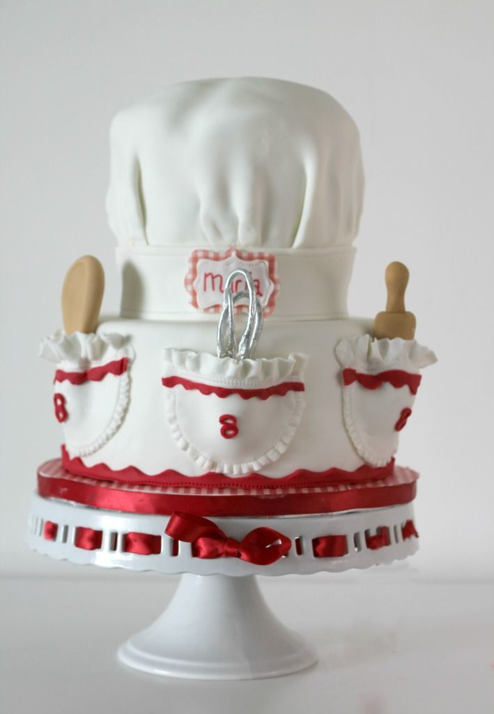 Chef's Hat cake (Follow the picture's link for the tutorial)