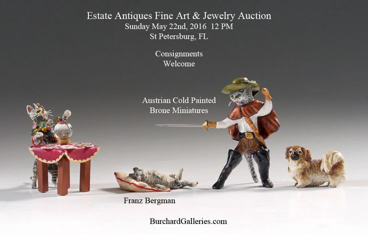 Austrian Bronze Save the Date!!! #Antiques May 21/22  Consignments Welcome http://BurchardGalleries.com