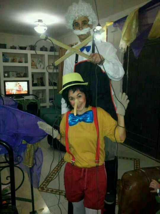 Pinocho y gepeto