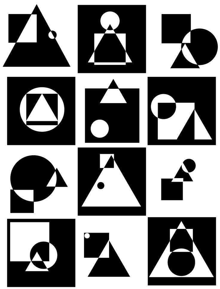 shapes composition 2 / della