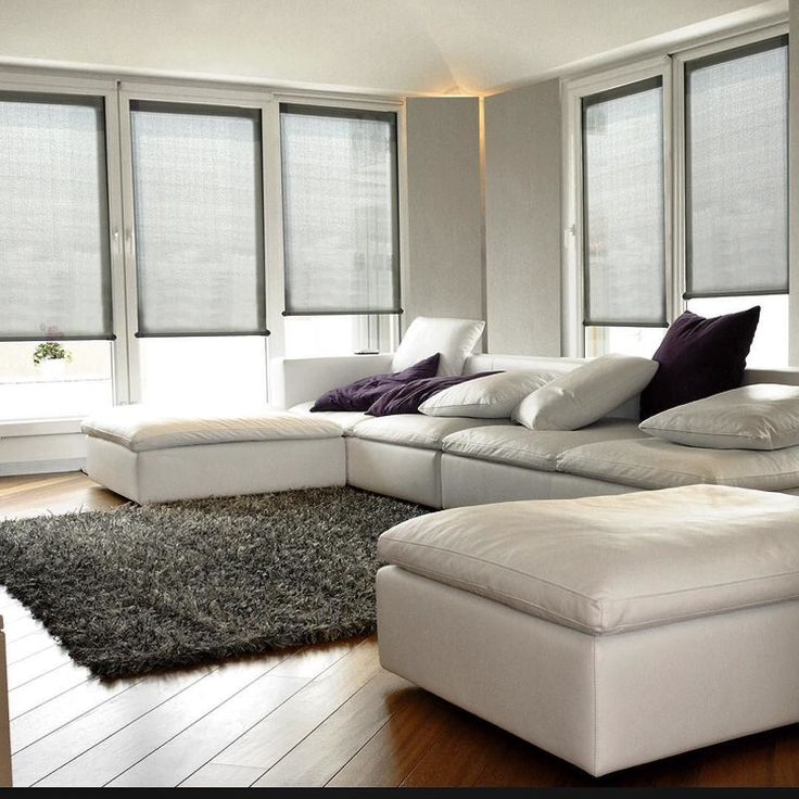 Norman Roller Shades Have Clean Modern Lines Without