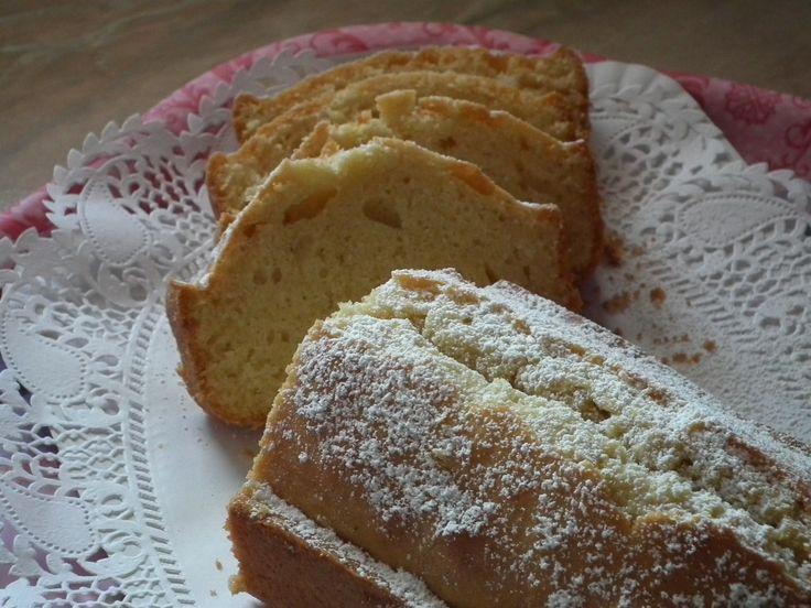 Plumcake alla vaniglia