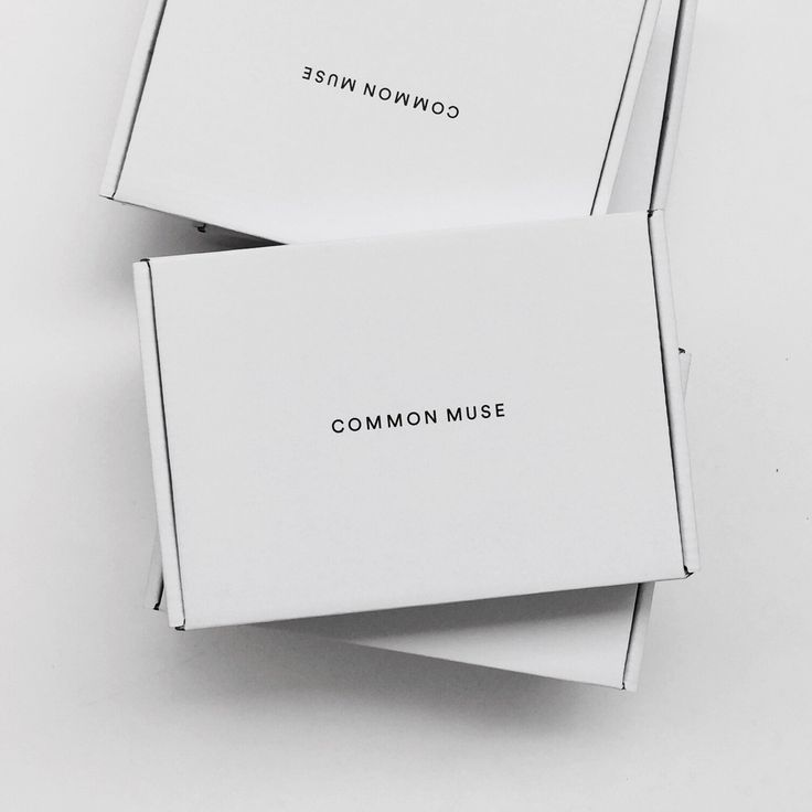 Common Muse packaging
