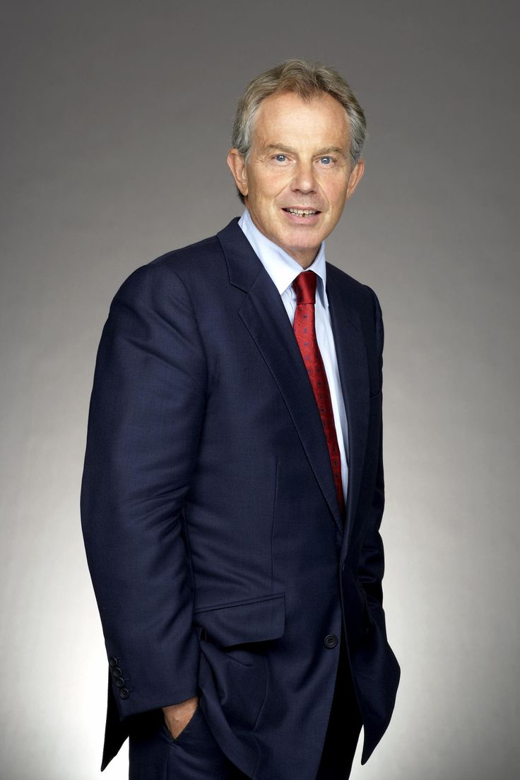 Tony Blair, former Prime Minister of the United Kingdom. Champion of intereligious understanding.