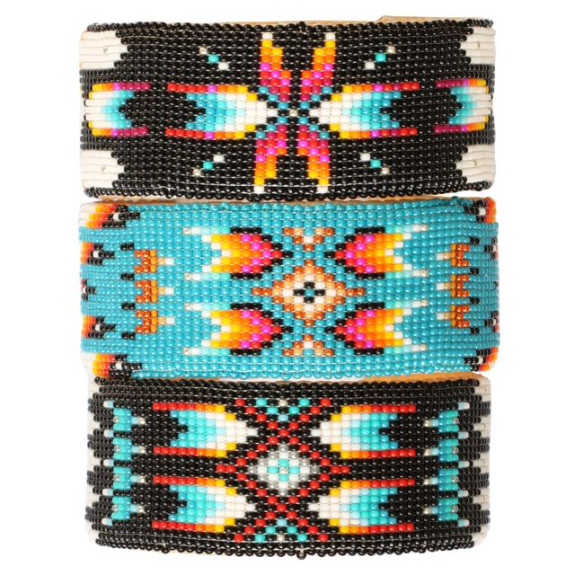 Beadwork. Native American Indian heritage.