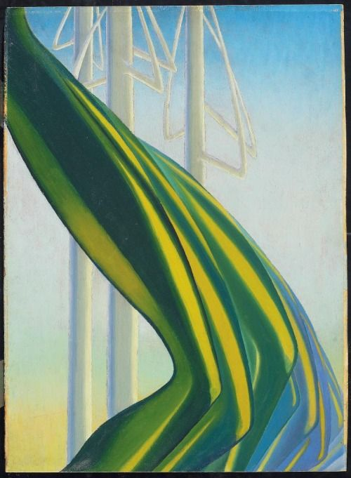 Green Movement, c. 1927 Bertram Brooker, Canadian, 1888 - 1955 Oil Overall: 58.8 x 43.2 cm