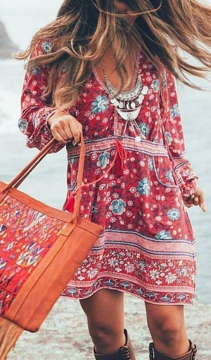 Gypsy Little Folk Dress                                                                             Source