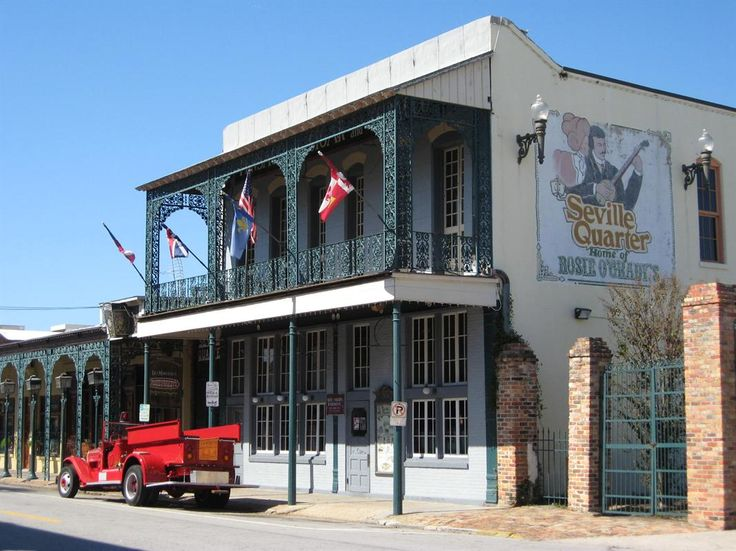 Pensacola, Florida ~ Love the quaintness of the old Downtown area ~