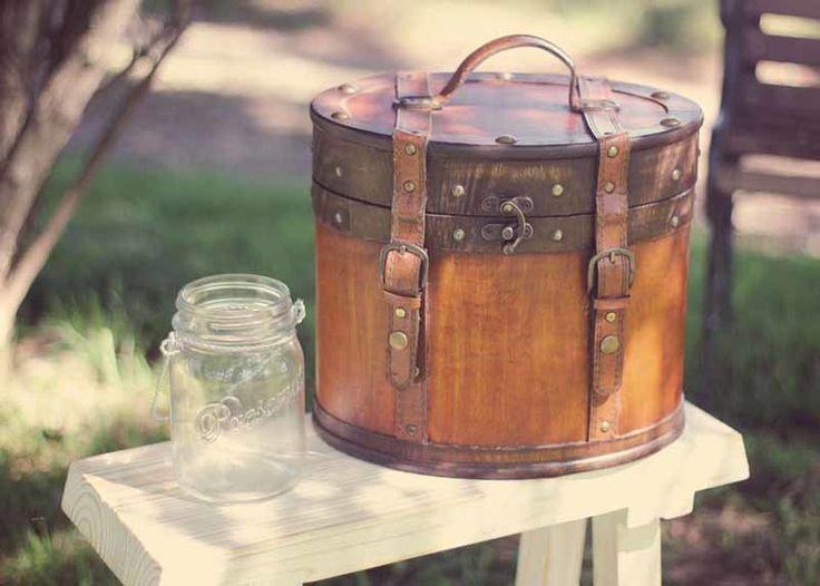 Beautiful hat box