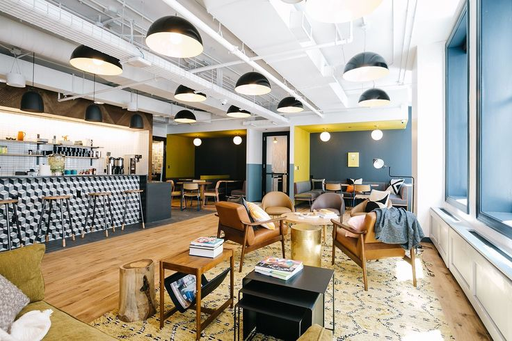 A Tour of WeWork - National Building - Officelovin'