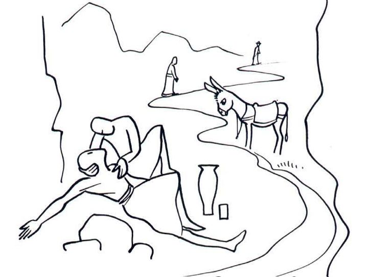 20 VALLOTTON THE GOOD SAMARITAN.jpg - Vallotton Annie  Vallotton drawings _Good news bible  Collins Fontana 1976 British and foreign bible s...