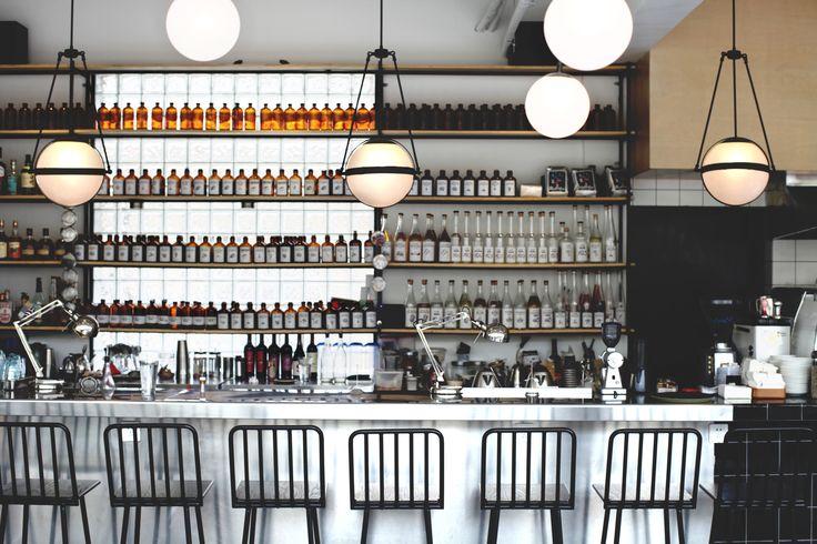 blackbird cafe&bar interior design by OHA Shanghai