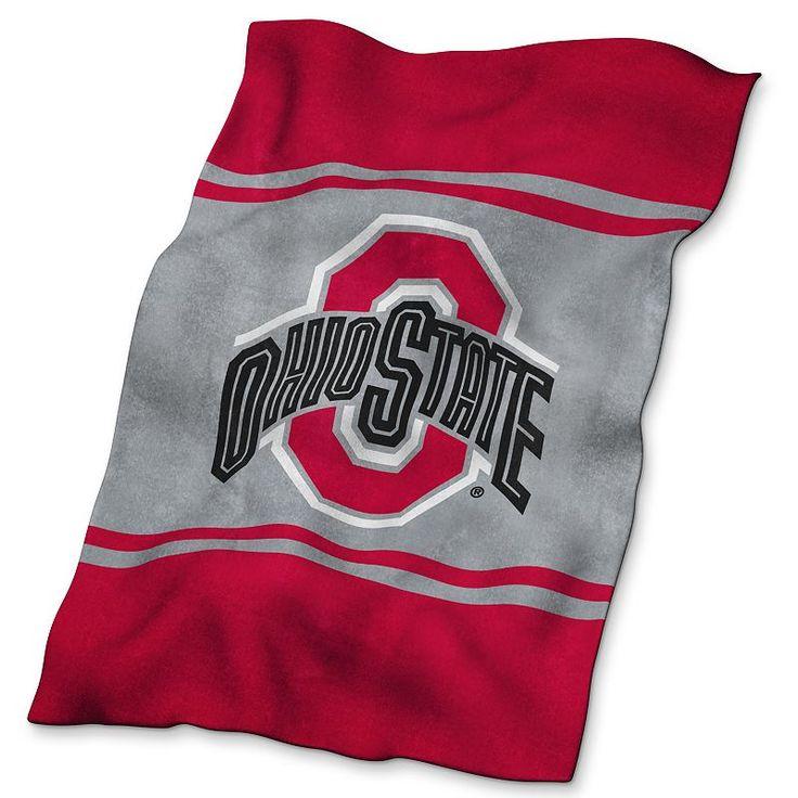 Ohio State Buckeyes UltraSoft Blanket, Multicolor