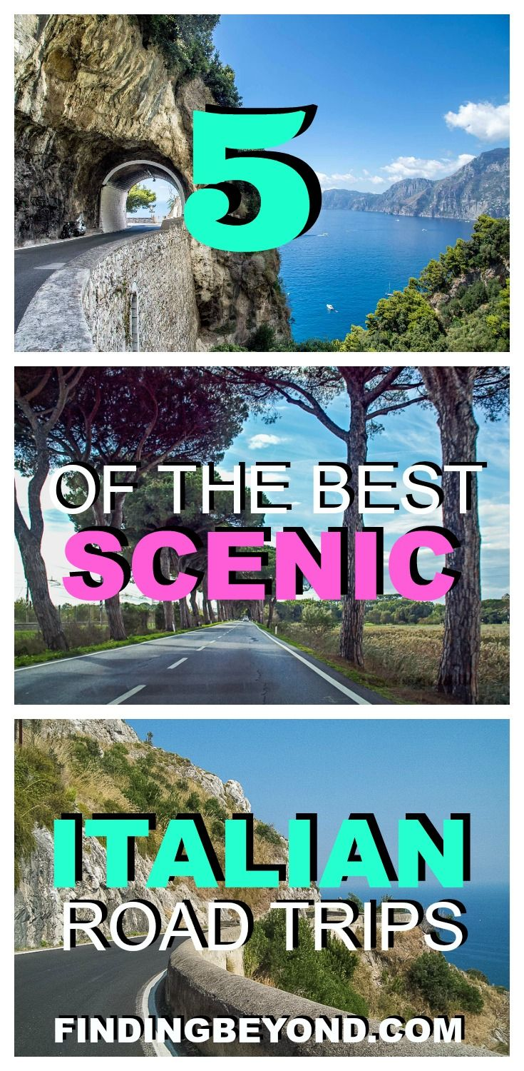 Doing a DIY Italian road trip is the best way to tour the country's local regions and beautiful countryside. Check out 5 of the best scenic drives in Italy. |Traveling in Italy | Europe Travel | Tips for traveling in Italy | Self Driving in Europe | Self Driving in Italy | Hiring a car in Italy | Best driving routes in Italy | Backpacking Europe | Visitng Italy | Best advice for driving in Italy | Top activities In Italy | Hiring a car in Europe