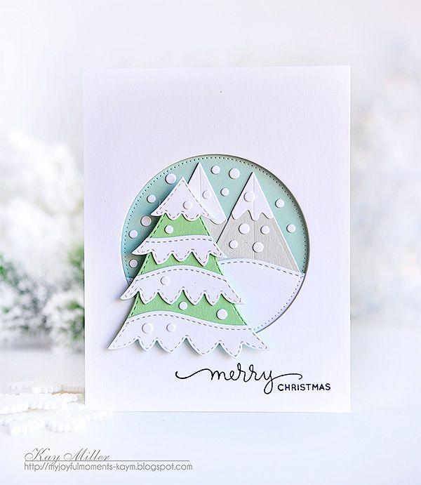 Merry Christmas and a Little Snowy Tree | My Joyful Moments | Bloglovin'