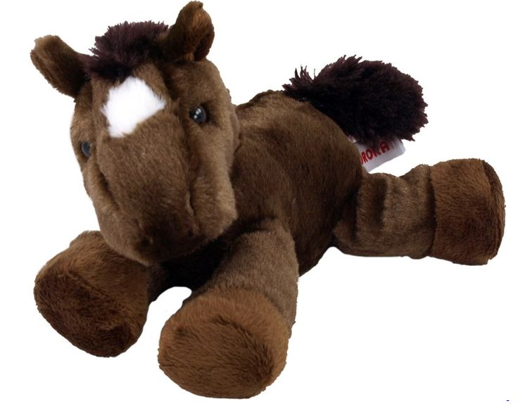 Chestnut the plush horse comes with a bandana or ribbon for a great Chinese New Year branding opportunity.