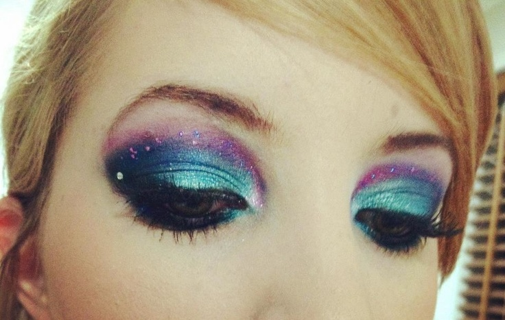Galaxy Makeup Halloween